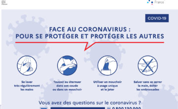 Coronavirus – fermeture exceptionnelle du Centre Iridis